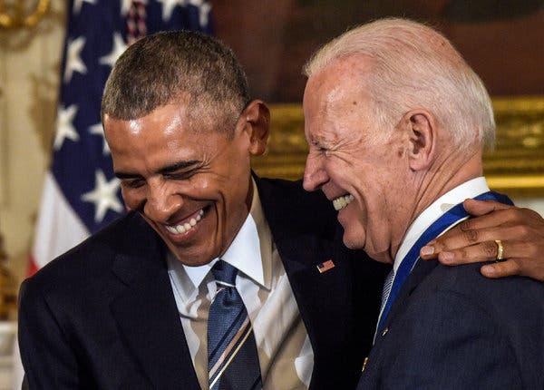 奥巴马与拜登(图:纽约时报)