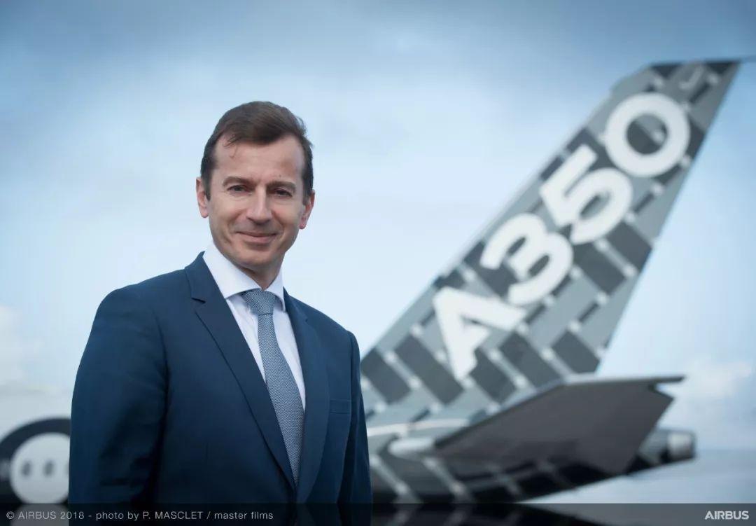 空客CEO:對中國市場充滿信心 絕不在安全上妥協