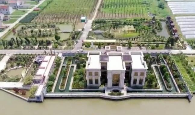 新京报:1.3亿违建豪宅主人