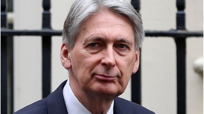 英媒:英国财长访华行程被取消 或因防长不当言论