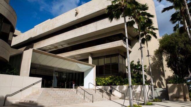 美国夏威夷州联邦法院 (图源:Getty)
