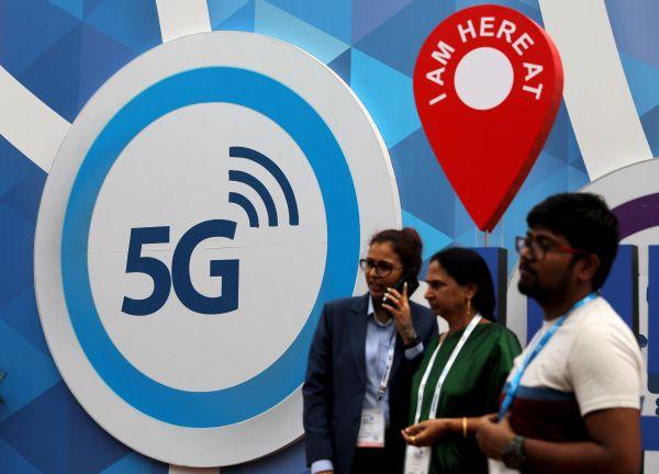 不久前,世界著名电信商在新德里召开的2018年印度移动大会上外示,下个主要的移动网络义务是聚焦5G。(路透社)