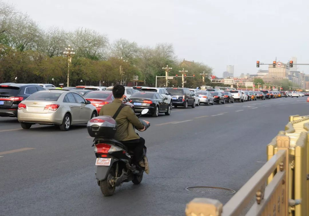 北京街头 图/图虫