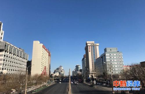 北京西城区建筑物 中新经纬 薛宇飞 摄