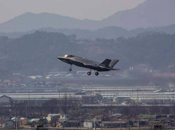 F-35A战机抵达韩国,韩国成为亚洲第三个装备第五代隐身战机的国家。