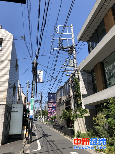 日本街道 中新经纬 常涛 摄
