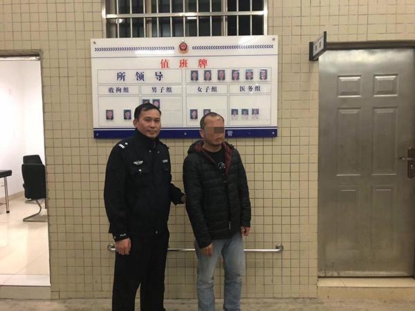外子被走拘。 惠州市惠城区公守纪局表宣 供图
