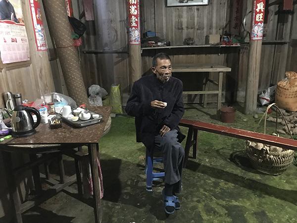 76岁的林传总 澎湃音信记者 沈文迪 摄