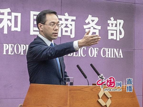 发言人邀请记者提问(中国网 高聪 摄)