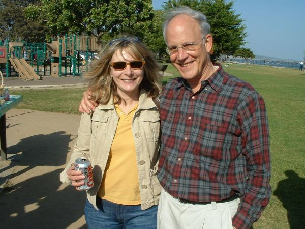 戴维·格罗斯和妻子