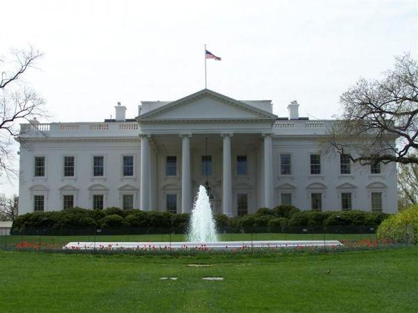 图为美国白宫