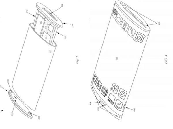 苹果提交环绕屏手机专利:两面都是屏的iPhone感受下