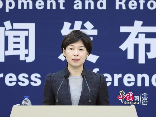 11月15日,国家发改委召开新闻发布会,国家发改委政策研究室副主任、新闻发言人孟玮介绍有关情况。中国网 宗超 摄