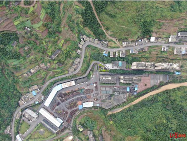 泸州古叙煤电公司俯瞰图/罗敏 摄