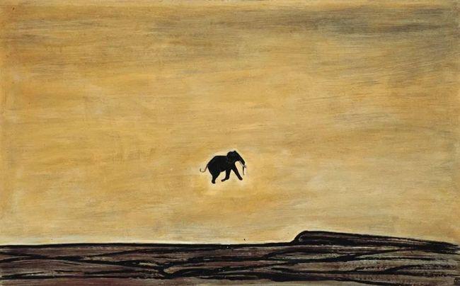 常玉,孤独的象,1966年