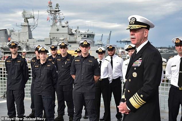 新西兰皇家海军 图自《每日邮报》