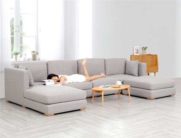 8H魔方布艺L型组合沙发上线:承重600斤不变形