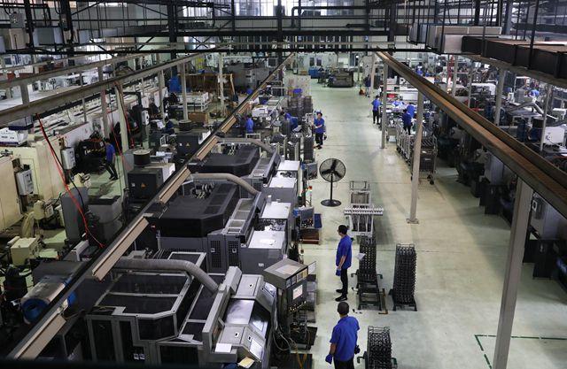 重庆永川智能装备产业集群发展。新华社/图
