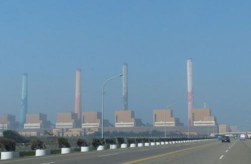 台中火力发电厂。台湾《说相符报》记者赵容萱摄影