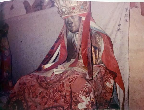 1989年林乐居拍摄的章公祖师像