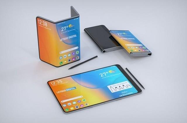 LG可折叠手机专利曝光 双折叠+手写笔