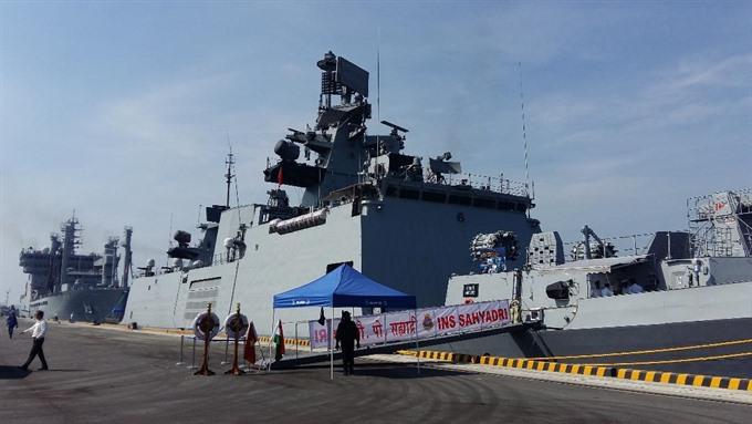 印越将在南海举行军演 均将动用本国海军最新装备海军越南印度海军军事