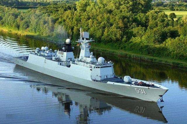 054A型护卫舰是自在军新世纪大量建造的新式导弹护卫舰