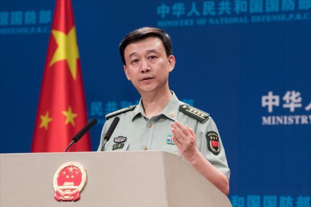 国防部发言人吴谦。图自IC photo