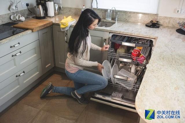 省水是洗碗机的另一大优点