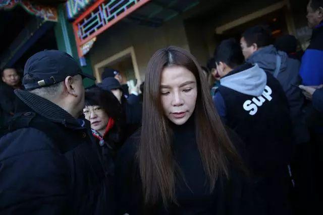 朱迅到场。新京报记者 郑新恰 摄