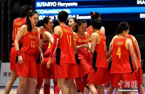 中国女篮惜败日本 将全力备战11月东京奥运会