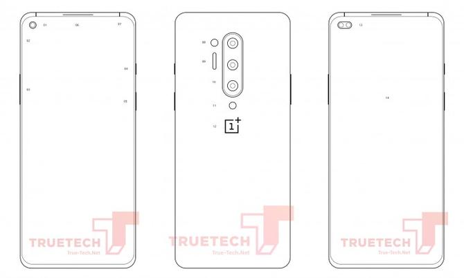 一加8 Pro手机设计渲染图曝光,后置可能采用四摄设计