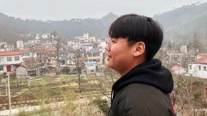 楊少富的兒子楊柳。新京報記者王瑞文 攝
