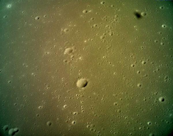 嫦娥5T对嫦娥五号预定采样区遥感成像图。来源/国家航天局