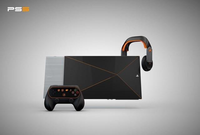 PS5非官方渲染推想图