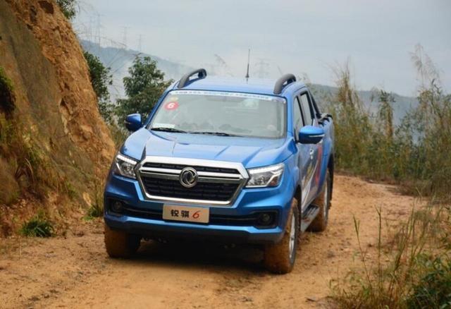 首款8AT柴油自动挡皮卡日产锐骐6 预售价10.68万起