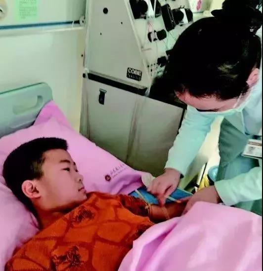△11月28日 马子彦即将为父亲捐献造血干细胞
