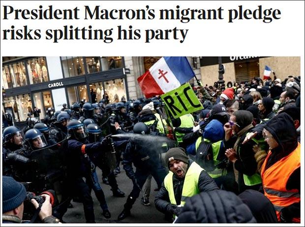 英国《泰晤士报》报道截图
