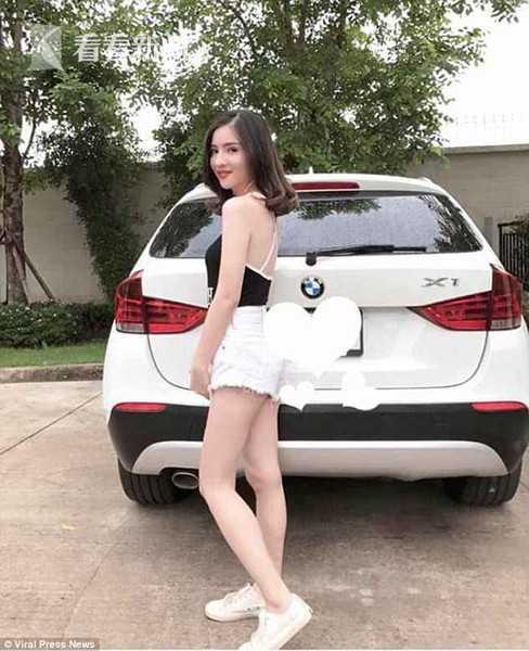 泰国妙龄女明星开宝马撞树 被夹车中香消玉殒(图)泰国妙龄女撞树