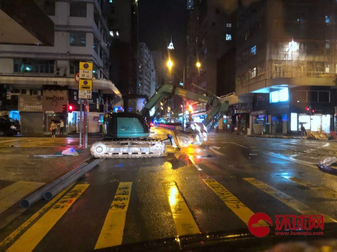 港岛街头。赴香港特派记者 范凌志 摄