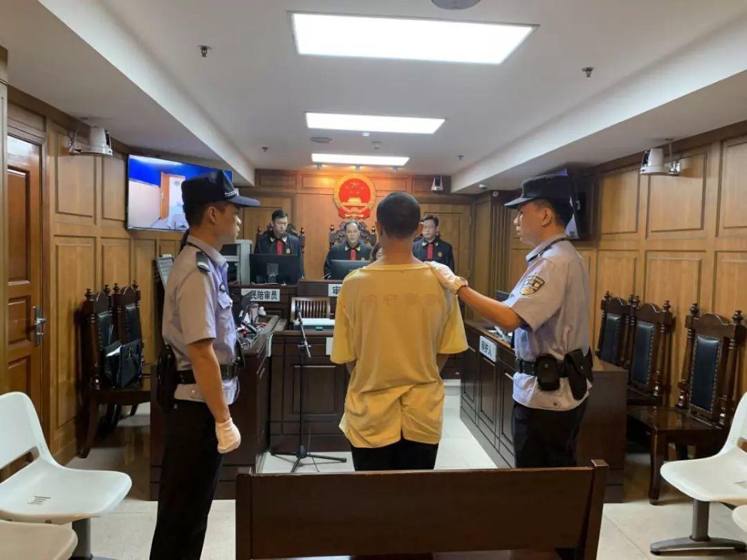 男子被广州白云区法院以编造虚假恐怖信息罪,判处有期徒刑7个月。  广东高院供图