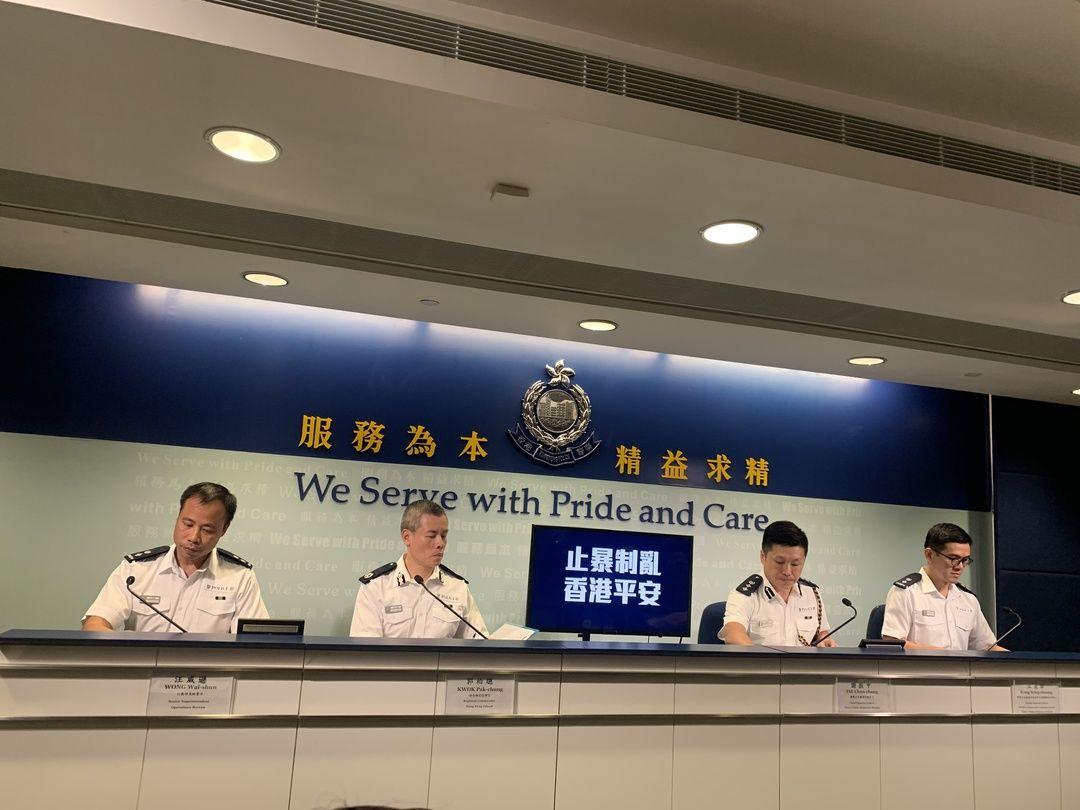 香港警方回应11日开枪事件:没时间警告