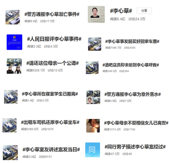 ▲图:微博话题多家媒体聚焦本事件并发布报道