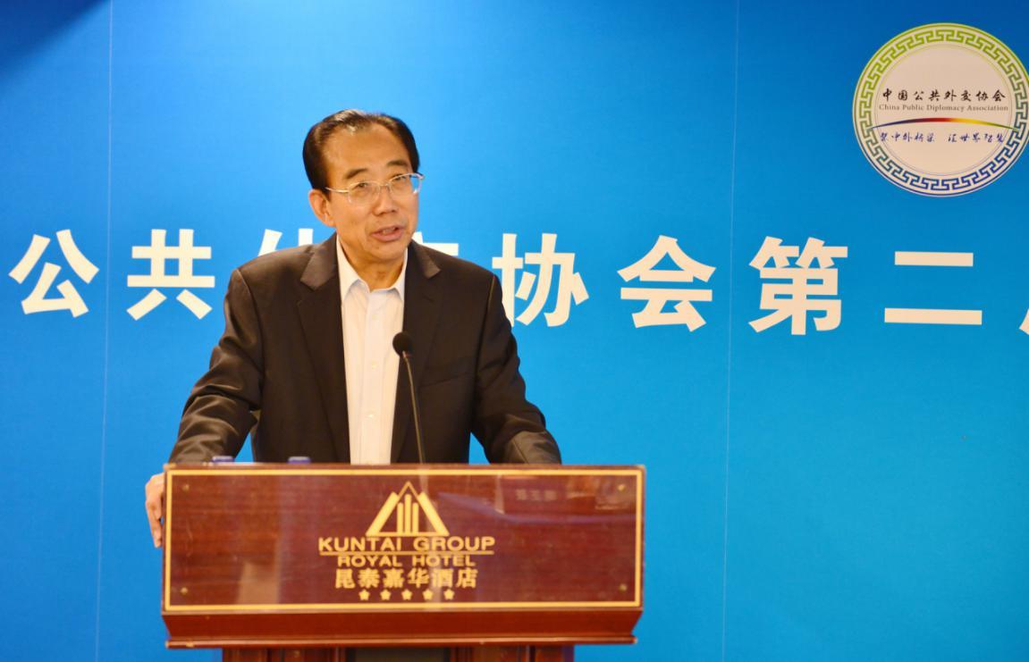 资深外交官吴海龙出任中国公共外交协会会长