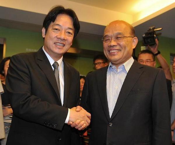 """民进党内慰留""""走政院长""""赖清德的声浪愈来愈大。(图片来源:台湾《中国时报》)"""