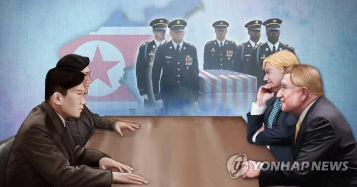 美军机关报:朝鲜或在停战协定日送还50至55具遗骸