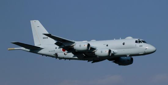 日本P-1巡逻机 图日本海上自卫队网站