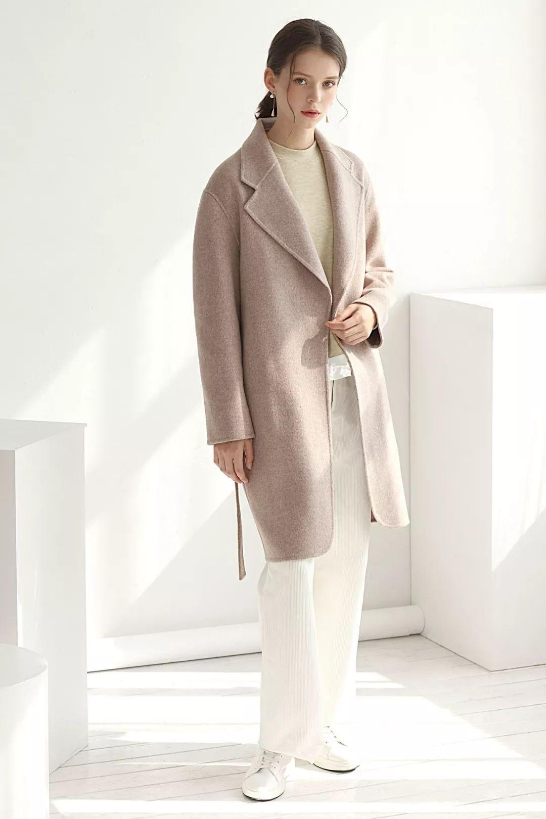 你的大衣,一看就很貴!