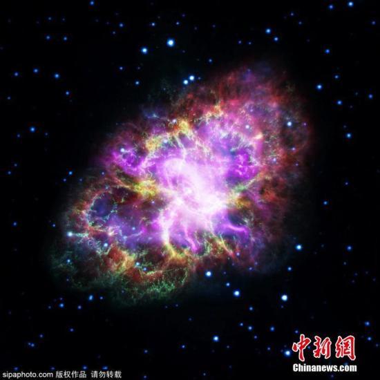 宇宙中的星系和黑洞在不断变幻,通过现代科技我们可以清晰地观看到这些变幻莫测美景的静态美图。图为蟹状星云。图片来源:Sipaphoto 版权作品 禁止转载