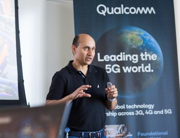 高通高级副总裁:全球5G部署的速度比先前4G的更...